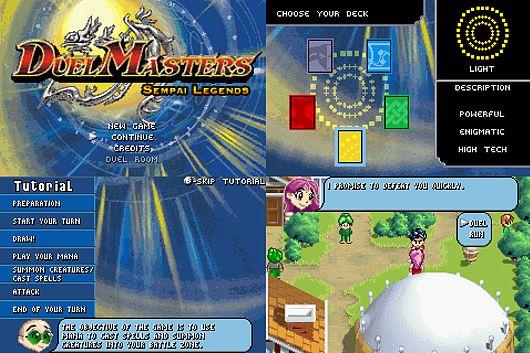 [???GBA]Duel Masters: Sempai Legends[ROM??](??)