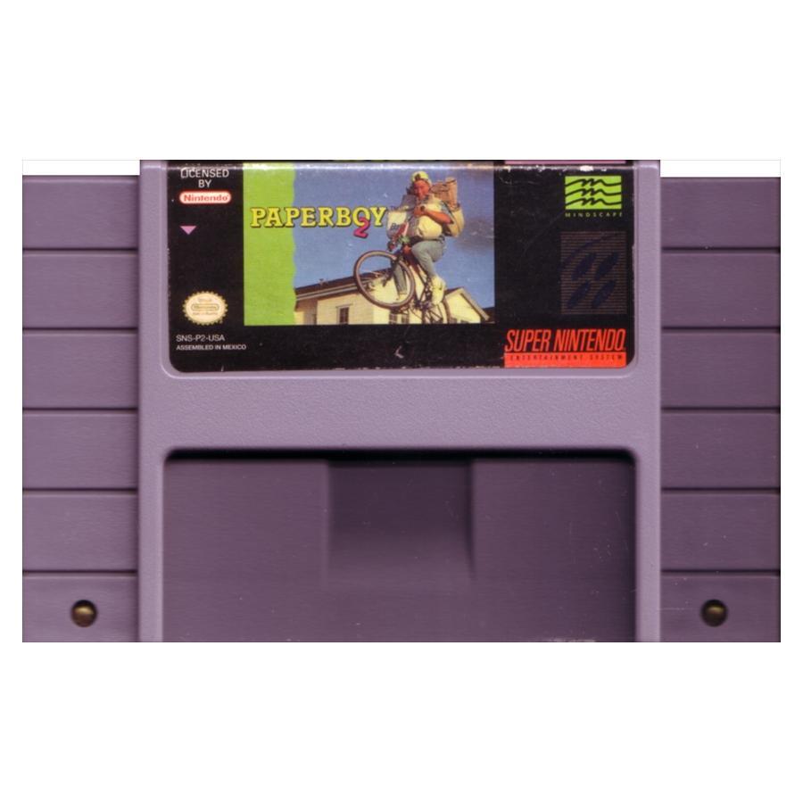 [北米版SNES]Paperboy 2[ROMのみ](中古) - huck-fin 洋ゲーレトロが充実!? 海外ゲーム通販 輸入ゲーム以外国内版取扱中